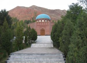The Rudaki Mausoleum In Panjakent